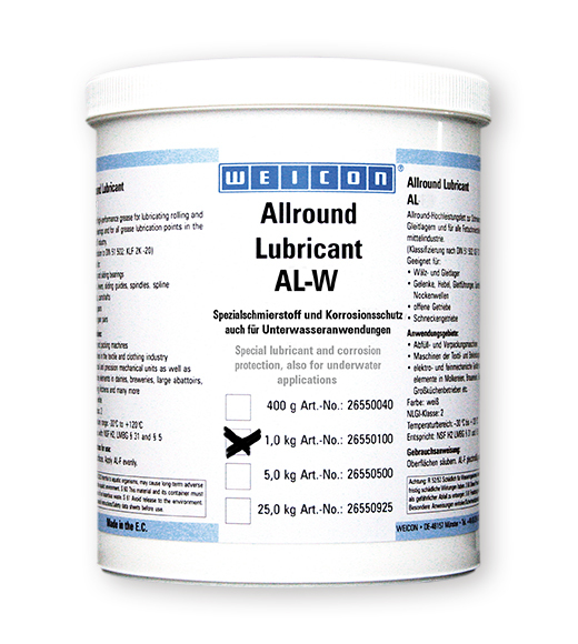 AL-W High Performance Grease 1kg 53.052.11