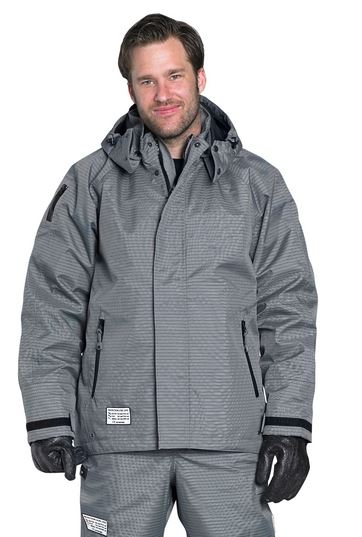 TST high pressure protection jacket with hood up to 500 bar