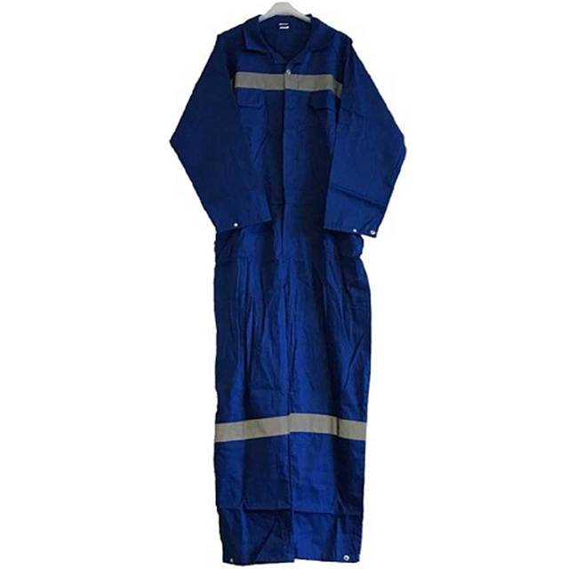 Impa 190549 boilersuit cotton fastener type blue size XXL (58-60)